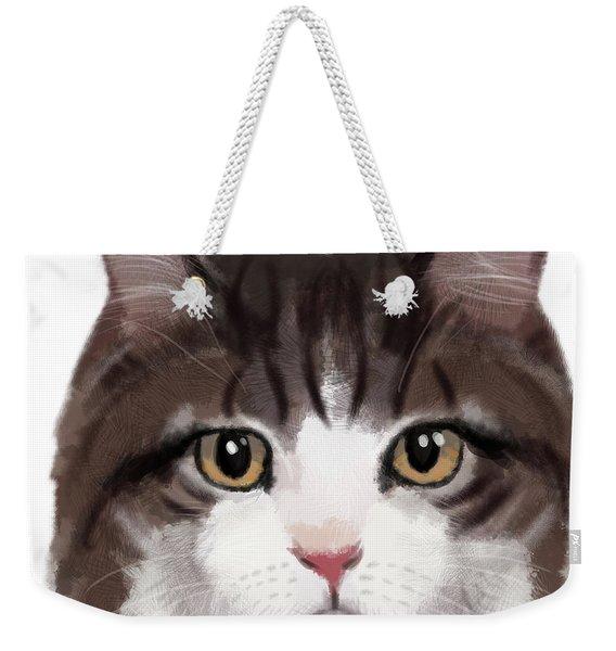 Jazz Cat Weekender Tote Bag