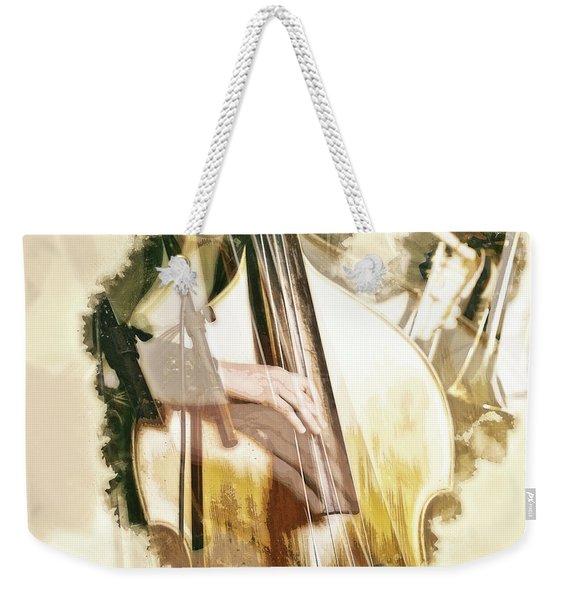 Jazz Dreams Weekender Tote Bag
