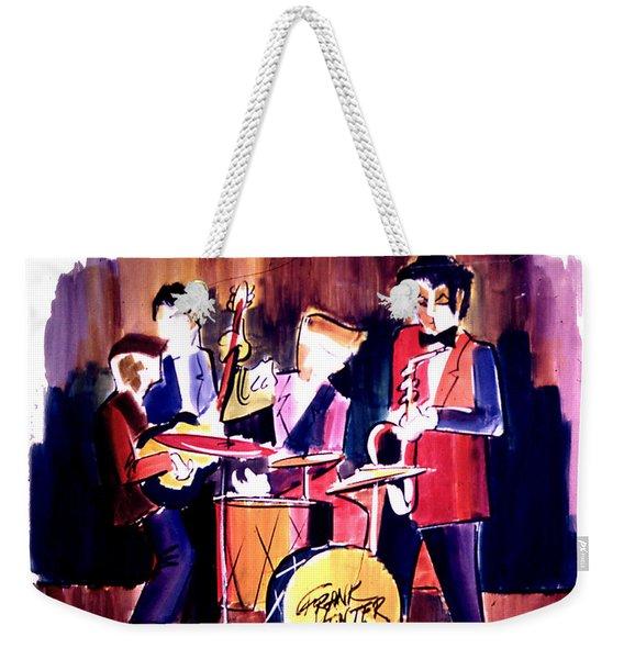 Jazz Weekender Tote Bag