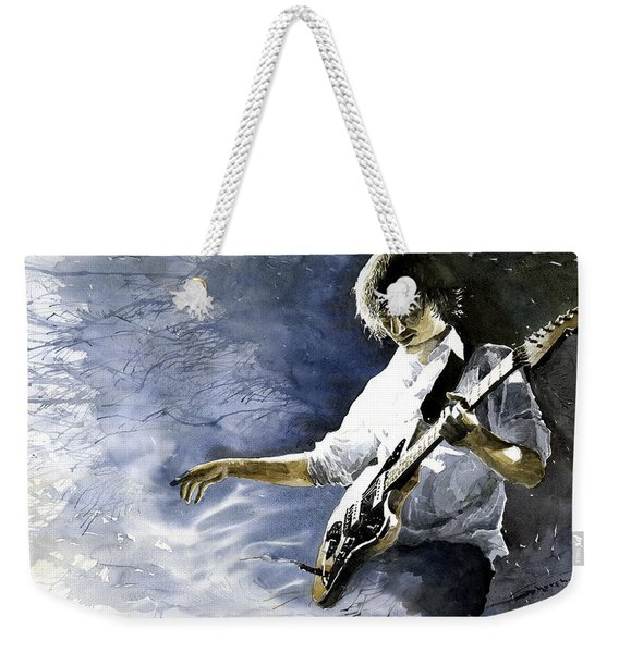 Jazz Guitarist Last Accord Weekender Tote Bag