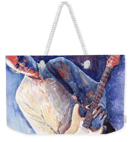 Jazz Guitarist Rene Trossman Weekender Tote Bag