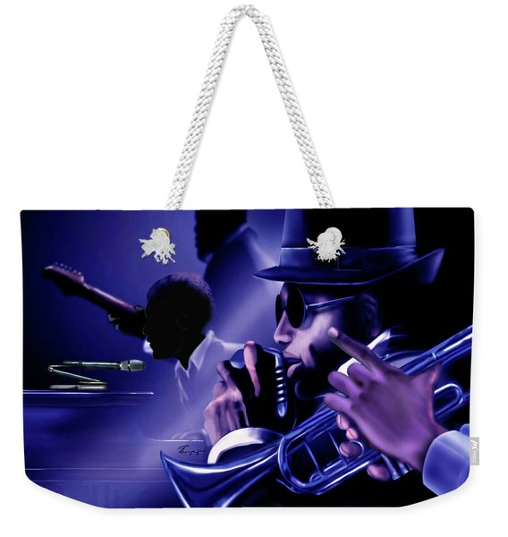 Jazz In Da Dusk Weekender Tote Bag