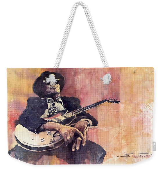Jazz John Lee Hooker Weekender Tote Bag