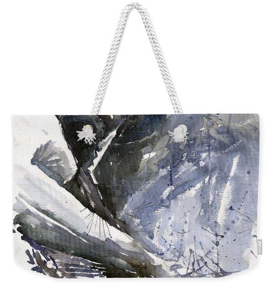 Jazz Marcus Miller 01 Weekender Tote Bag