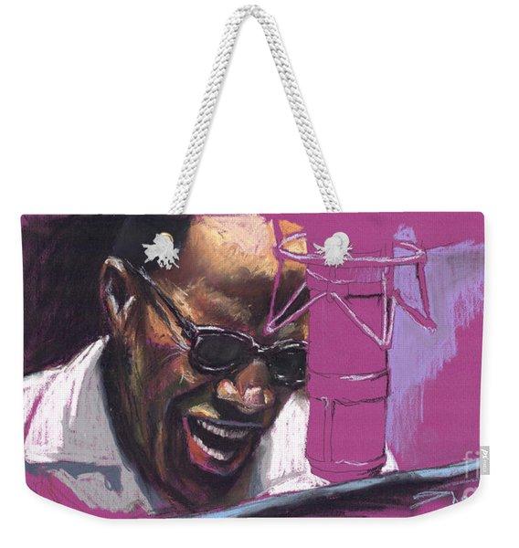Jazz Ray Weekender Tote Bag