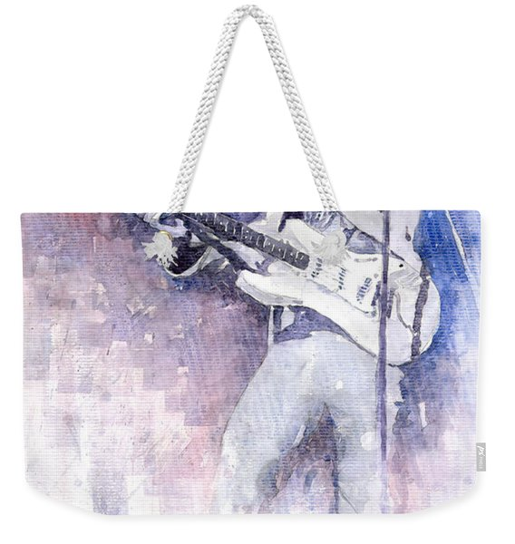 Jazz Rock Jimi Hendrix 07 Weekender Tote Bag