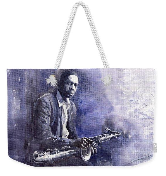 Jazz Saxophonist John Coltrane 03 Weekender Tote Bag