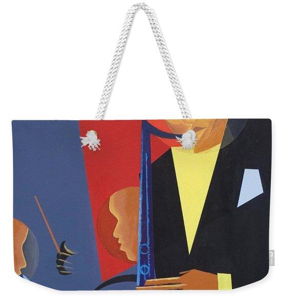 Jazz Sharp Weekender Tote Bag