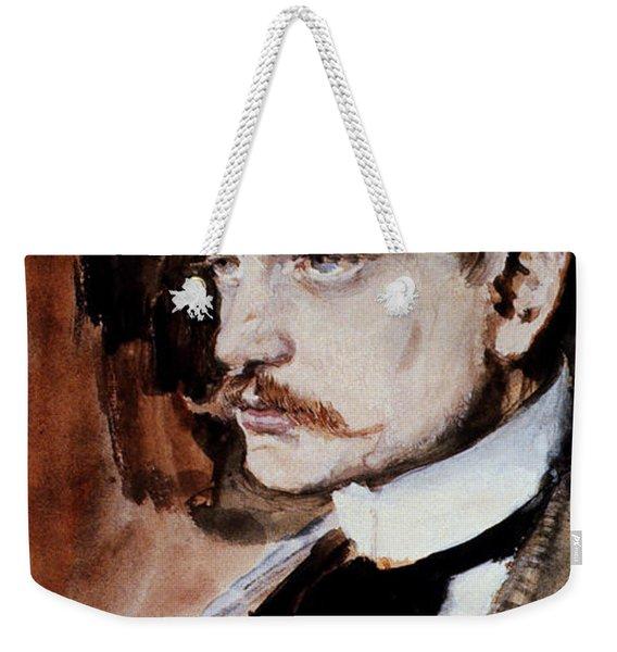 Jean Sibelius (1865-1957) Weekender Tote Bag