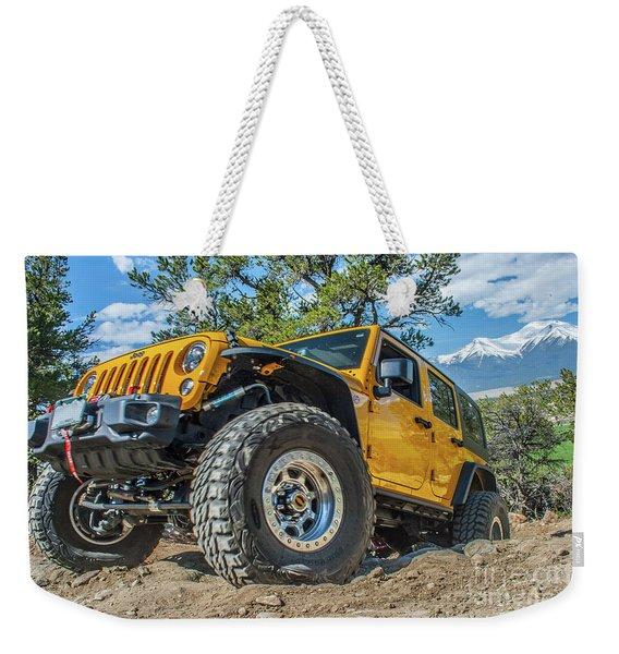 Jeep Life Weekender Tote Bag