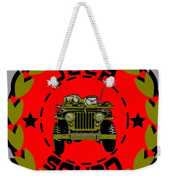Jeep Squad Weekender Tote Bag