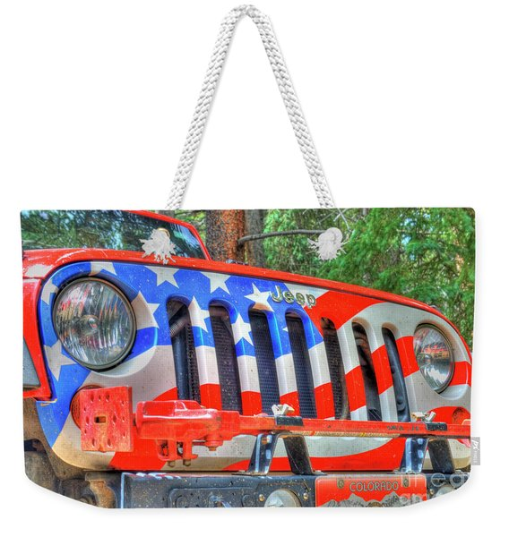 Jeep Usa Weekender Tote Bag