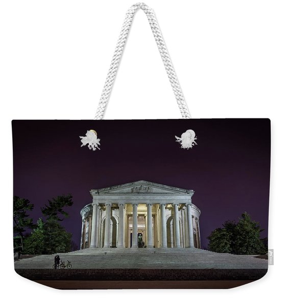Jefferson At Night Weekender Tote Bag