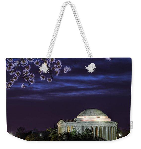 Jefferson Cherry Sunrise Weekender Tote Bag
