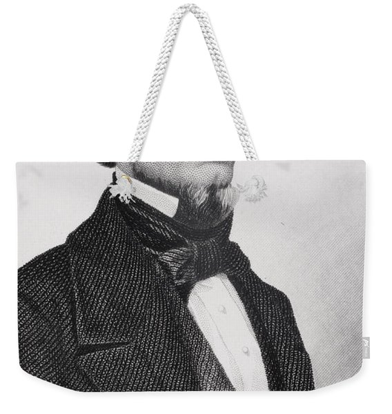 Jefferson Davis Weekender Tote Bag