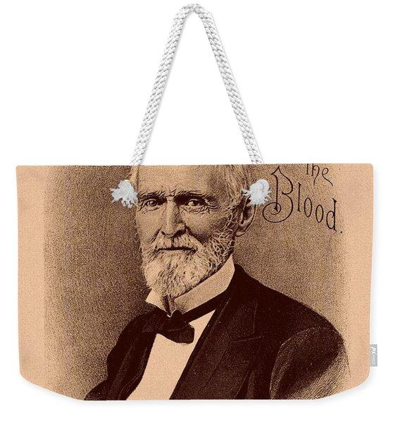 Jefferson Davis Vintage Advertisement Weekender Tote Bag