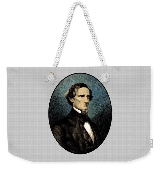 Jefferson Davis Weekender Tote Bag