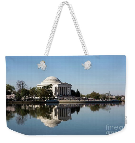 Jefferson Memorial Cherry Blossom Festival Weekender Tote Bag