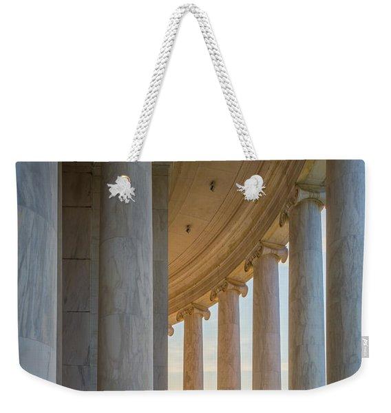 Jefferson Memorial Dawn Weekender Tote Bag