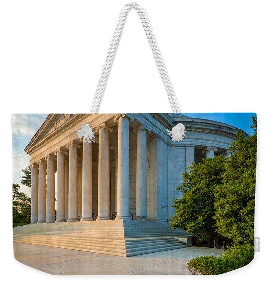 Jefferson Memorial Panorama Weekender Tote Bag