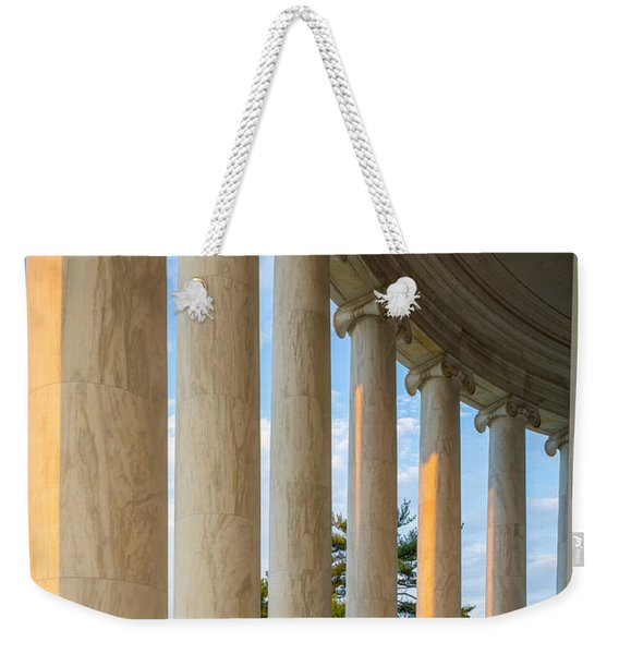 Jefferson Memorial Pillars Weekender Tote Bag