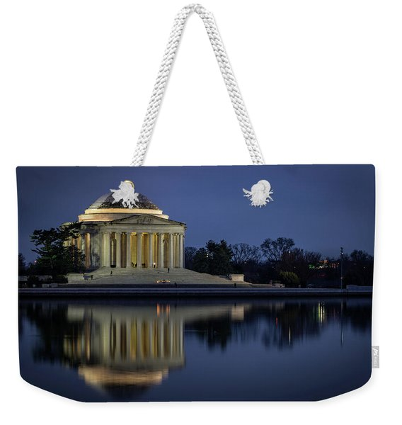 Jefferson Reflecting Weekender Tote Bag