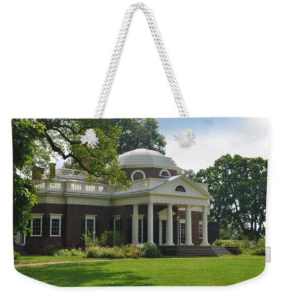 Jeffersons Monticello Weekender Tote Bag