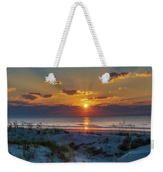 Jekyll Island Sunrise Weekender Tote Bag