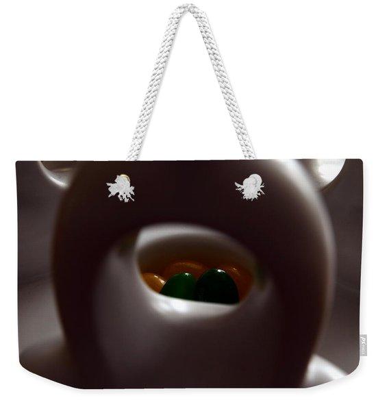 Jelly Bean Buddha Weekender Tote Bag