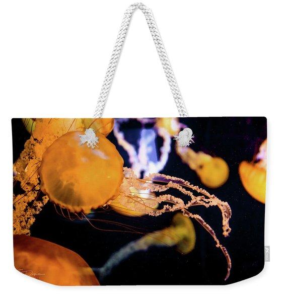 Jelly Storm Weekender Tote Bag