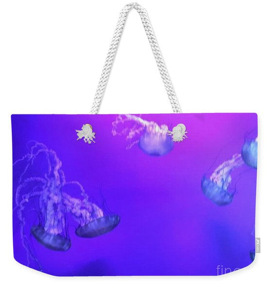 Jellyfish 1 Weekender Tote Bag
