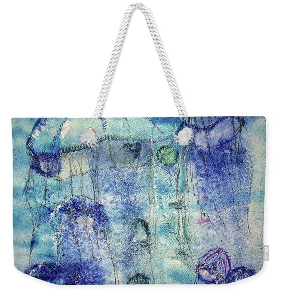 Jellyfish I Weekender Tote Bag