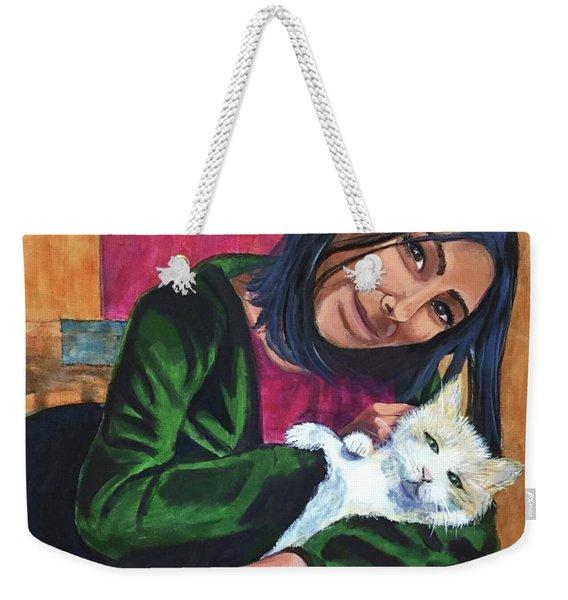 Jenny And Rogan Weekender Tote Bag
