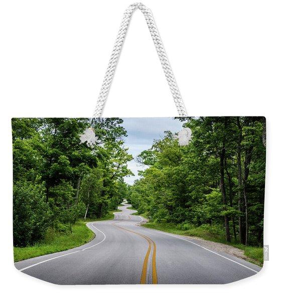 Jens Jensen's Winding Road Weekender Tote Bag
