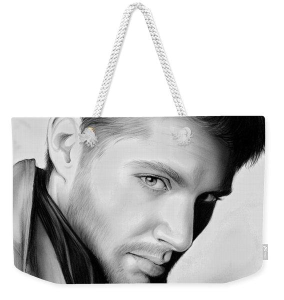 Jensen Ackles Weekender Tote Bag
