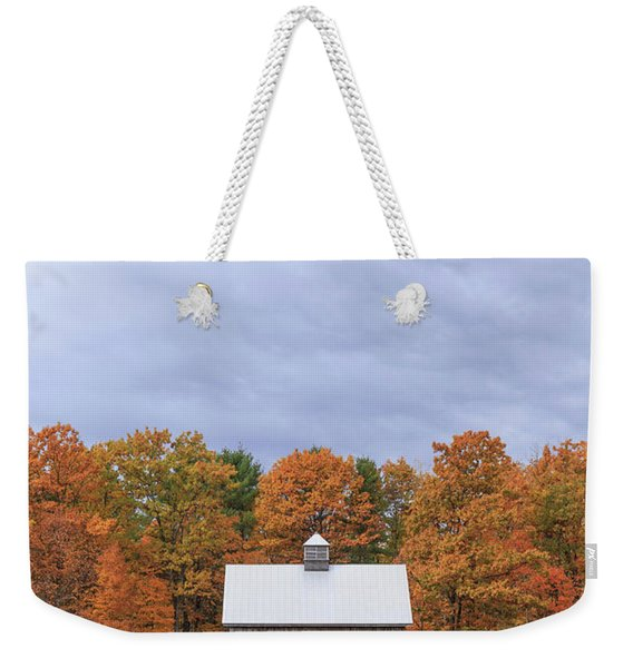 Jericho Hill Vermont Barn Weekender Tote Bag