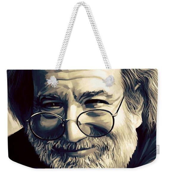 Jerry Garcia Artwork  Weekender Tote Bag