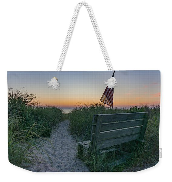Jerry's Bench Weekender Tote Bag