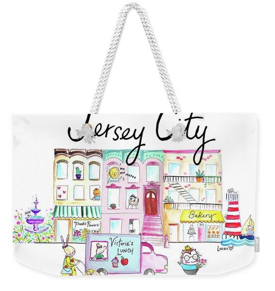 Jersey City Weekender Tote Bag
