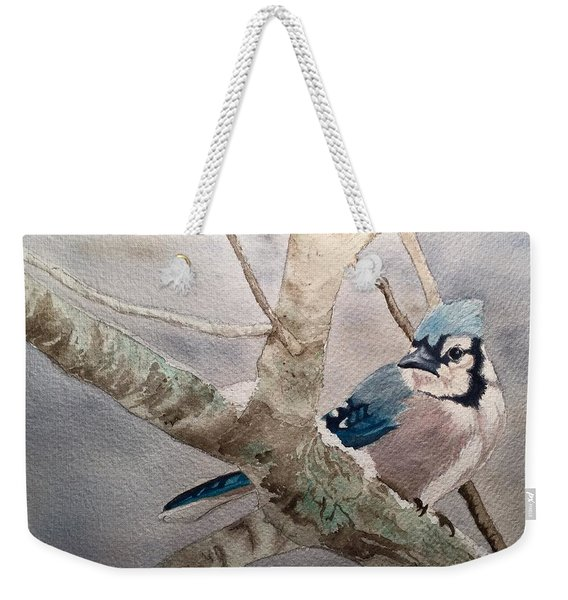 Cold Winter's Jay Weekender Tote Bag