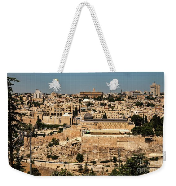 Weekender Tote Bag featuring the photograph Jerusalem by Mae Wertz