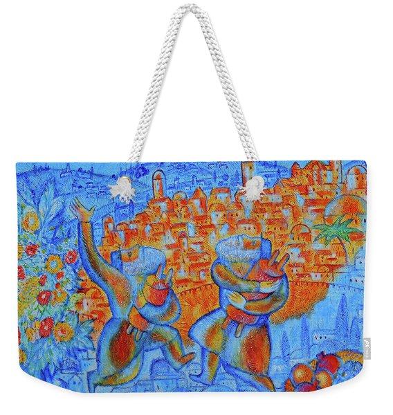 Jerusalem Of Gold Weekender Tote Bag