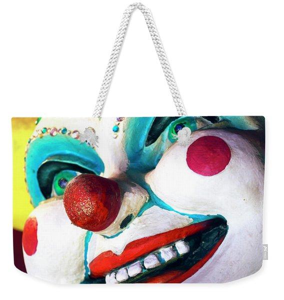 Jester Always Smiles In New Orleans Weekender Tote Bag