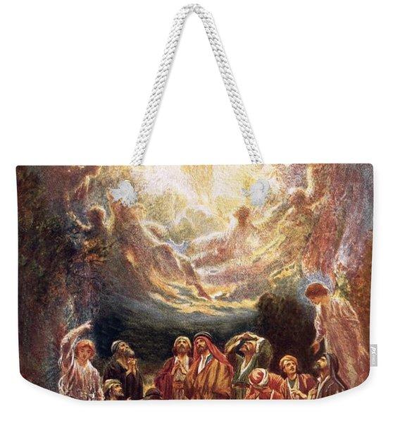 Jesus Ascending Into Heaven Weekender Tote Bag