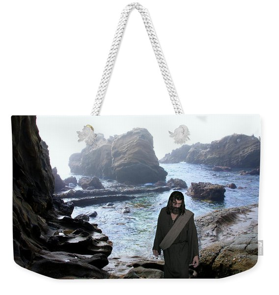 Jesus Christ- Be Not Dismayed For I Am Your God Weekender Tote Bag