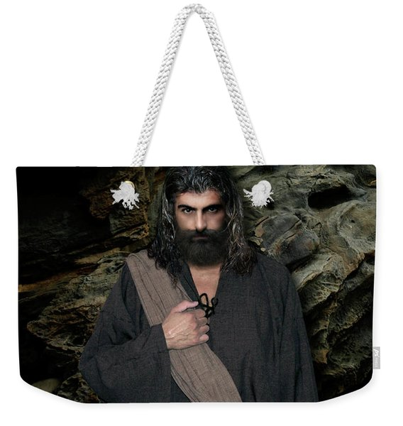 Jesus Christ- Be Still And Know That I Am God Weekender Tote Bag
