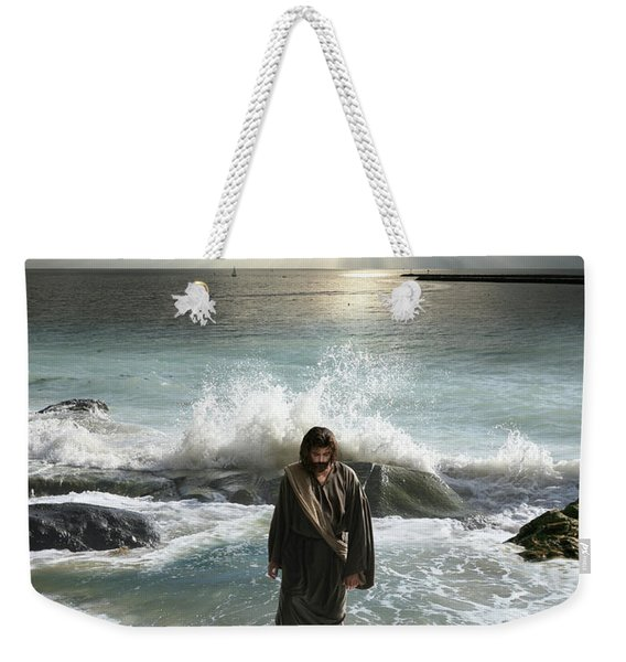 Jesus Christ- I Have Come As A Light Into The World Weekender Tote Bag