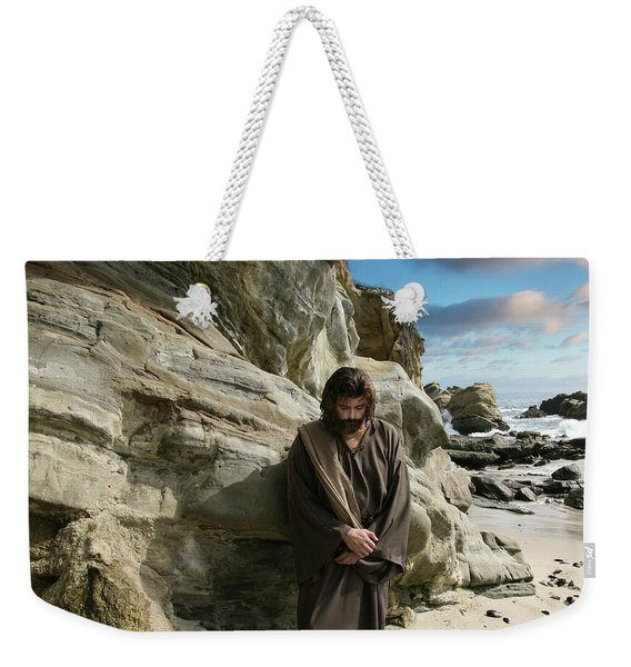 Jesus Christ- I Have Heard Your Prayer And Seen Your Tears I Will Heal You Weekender Tote Bag