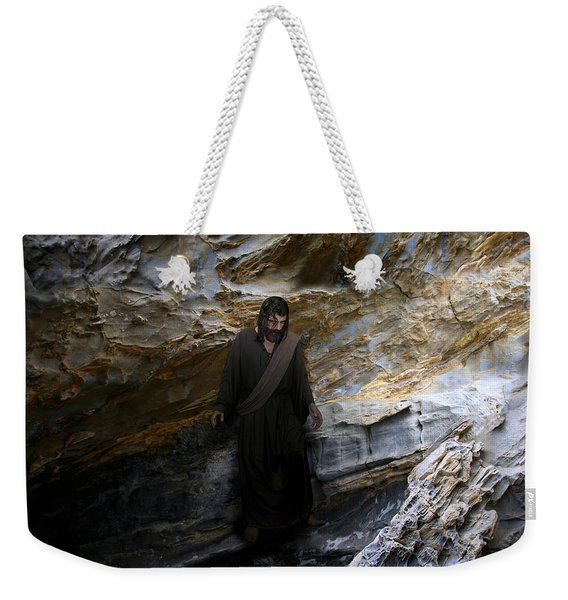 Jesus Christ- The Lord Is My Light And My Salvation Weekender Tote Bag