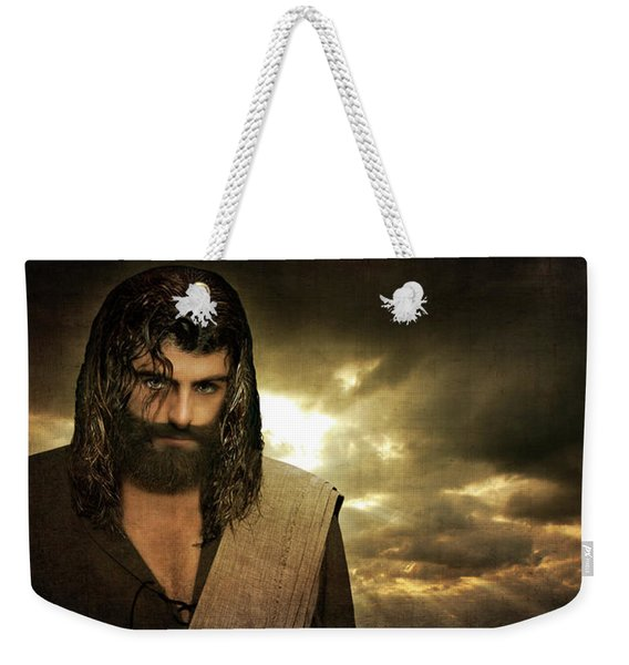 Jesus Christ- Will You Hear Me Shout Come Up Weekender Tote Bag